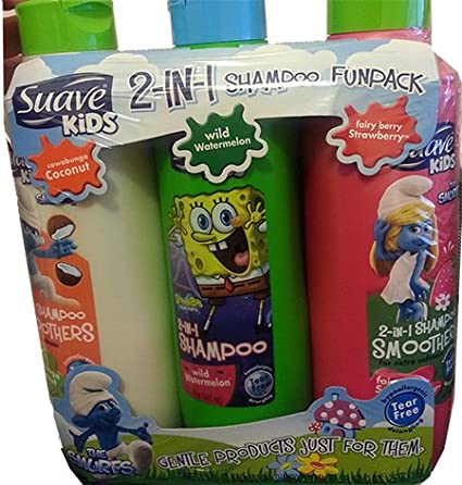 Suave Kids 2 - In -1 Shampoo Fun Pack
