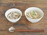 【M'home style】白い食器 白磁の軽量夫婦茶碗 ホワイトレベル2