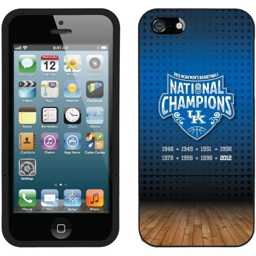 Great Sale Kentucky - Champions Court design on a Black iPhone 5s / 5 Slider Case by Coveroo
