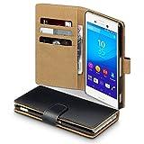 Sony Xperia M4 Aqua Case, Terrapin Handy Leder Brieftasche