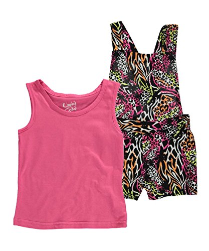 "Liquid Gold Girl Little Girls' ""Go Animal"" 2-Piece Outfit"