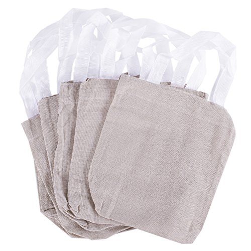 8 x 8 canvas tote sacks natural color for arts crafts for Arts and crafts tote bags