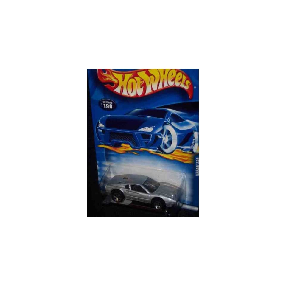 #2001 190 Ferrari 308 164 Scale Collectible Die Cast Car Mattel Hot Wheels