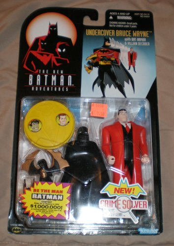 "The Adventures of Batman Undercover Bruce Wayne / Batman 5"" Action Figure (1998 Kenner) at Gotham City Store"