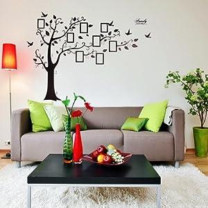2 pegatina para pared adhesivo pvc decoraci n rbol rama - Amazon decoracion pared ...