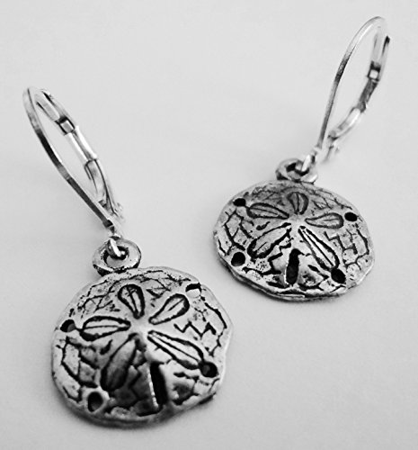 MINI SAND DOLLAR DANGLE EARRING (Mini Sand Dollars compare prices)