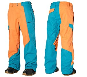 O'Neill Escape Line Up Mens Snow Ski Pants (Tangelo, L)