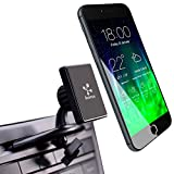 Koomus Magnetos Universal CD Slot Magnetic Cradle-less Smartphone Car Mount Holder for iPhone 6 6+ 5 5S 5C 4 4S iPod touch, Samsung Galaxy S5 S4 S3 Note 2 Note 3 Google Droid HTC GPS with Quick-snap technology