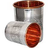 Dungri India Handmade Water Glass Copper Tumbler | Traveller's Copper Cup