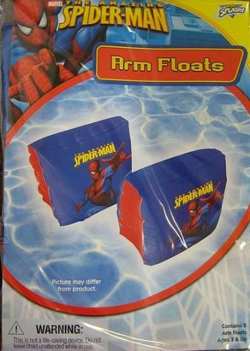 Spiderman arm floats