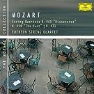 Mozart: String Quartets K. 465, 458 & 421
