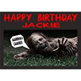 The Walking Dead Cake Toppers Frosting Sheets Edible Image