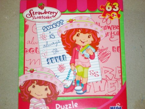 Cheap MEGA STRAWBERRY SHORTCAKE SWEET IS ALWAYS IN STYLE 63 PIECE JIGSAW PUZZLE 9 1/8″ X 10 3/8″ (B001IANUPS)