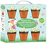 Flower Pot Cupcake Baking Kit