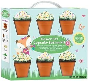 Flower Pot Cupcake Baking Kit