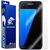 ArmorSuit MilitaryShield For Samsung Galaxy S7 Edge Screen Protector [Full Coverage] Anti-Bubble Ultra HD Shield w/ Lifetime Replacements