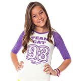 Sam & Cat: Team Cat Baseball Tee - Girls
