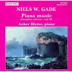 Gade, N.: Piano Music, Vol. 3
