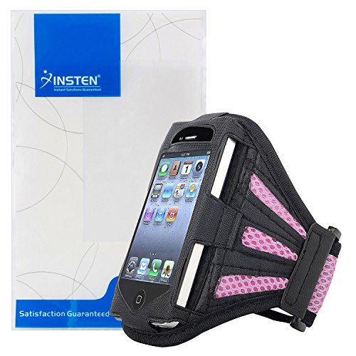 eForCity Sports Armband Case for iPod touch (Pink)