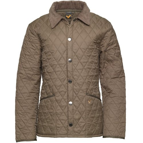 Voi Jeans Mens Pack Quilted Jacket Khaki