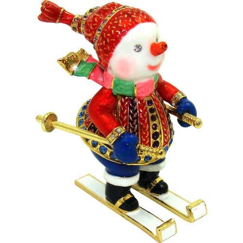 Objet D'Art Release #364 Christmas Trinket Box