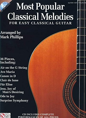 Most Popular Classical Melodies for Easy Classical Guitar