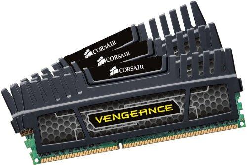 Corsair CMZ12GX3M3A1600C9 12GB (3 x 4GB) DDR3 Vengeance Memory