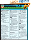 Construction Math (Quickstudy: Home)