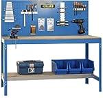 Werkbank BT-2 900 Blau / Holz, Ma�e:...