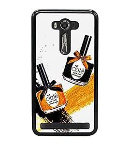 Make up Bottles 2D Hard Polycarbonate Designer Back Case Cover for Asus Zenfone Selfie ZD551KL
