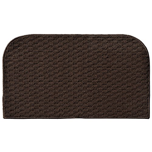 Garland Rug Town Square Kitchen Slice Rug, 18-Inch By 30-Inch, Mocha front-605562