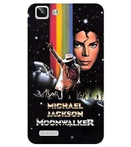 Chiraiyaa Designer Printed Premium Back Cover Case for Vivo Y27 Vivo Y27L (michael jackson dance sing perform) (Multicolor)