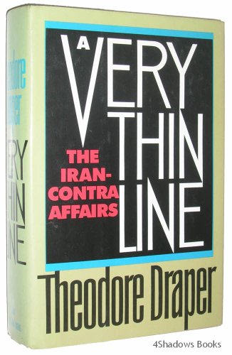 Very Thin Line: Iran-Contra Affairs