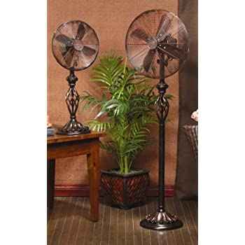 Deco Breeze Table Top Fan Prestige Rustica