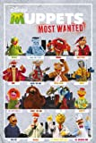 GB eye The Muppets Most Wanted Characters Maxi Poster, Multi-Colour