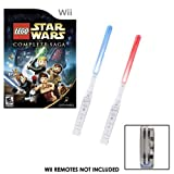 Wii Star LEGO Wars the Complete Saga PLUS Dual Illuminating Motion Sabers