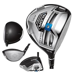 TaylorMade Mens SLDR 430cc Golf Driver, Left Hand, 12-Degree, X-Stiff by TaylorMade