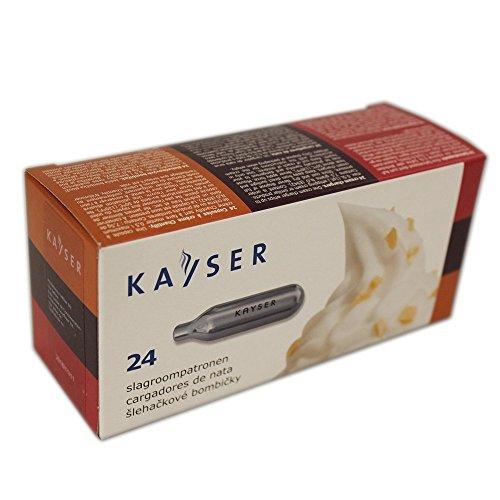 Kayser, Capsule per panna montata, 24 pz.