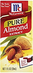 McCormick Pure Almond Extract, 1-Ounce Unit (Pack of 6)
