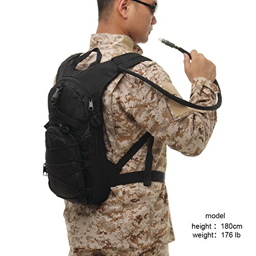 Hydration Backpack With Bladder