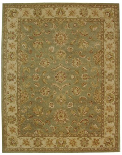 discount area rugs antiquities gem green handmade wool
