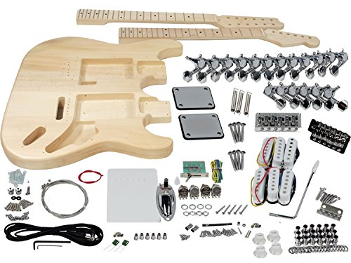 solo-st-style-double-neck-diy-guitar-kit-basswood-body-dstk-1