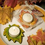 Autumn Themed Candle Favor, 1