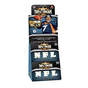 2010 Topps Triple Threads Football HOBBY Box - 2p6c by Topps