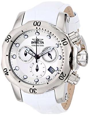 Invicta Women's 16089 Venom Analog Display Swiss Quartz White Watch
