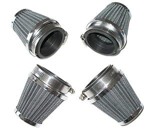 4 Pod Air Filters Yamaha Xj600 Xj700 Xj750 Xj900 Xj 600 700 750 52Mm