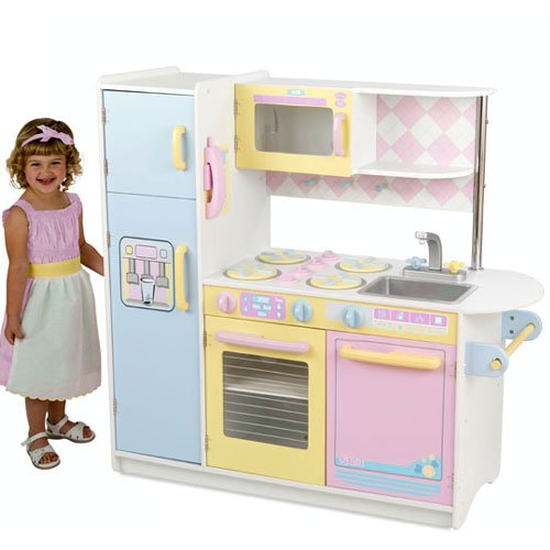 Girls wooden play kitchens kitchen design photos for Girls play kitchen
