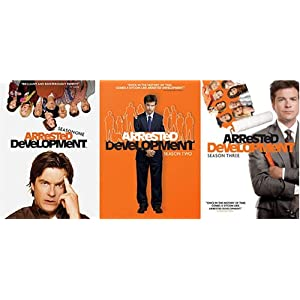 Amazon Gold Box Daily Deal: Arrested Development: The Complete Series (Seasons 1-3 Bundle) (2003) $26.99