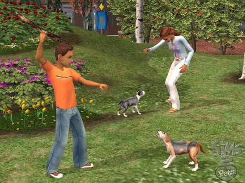 Sims 2 Pets screenshot
