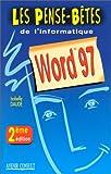 echange, troc Isabelle Daudé - Word 97